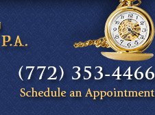 Call (772) 353-4466 to schedule an appointment today